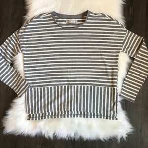 Abercrombie and fitch Striped Long sleeve Tee